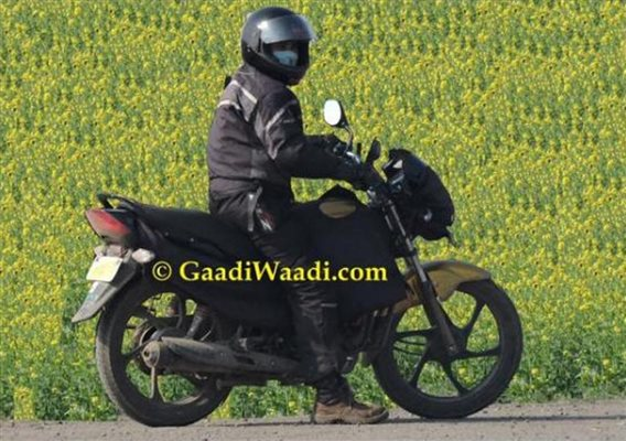 Hero Passion XPro facelift spied testing