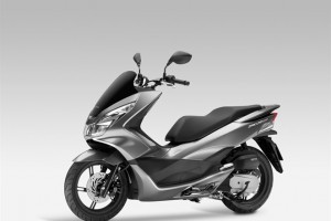 Honda PCX 150 front-side picture