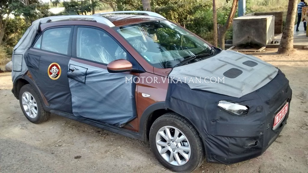 Hyundai Elite i20 crossover spied with new exterior shade