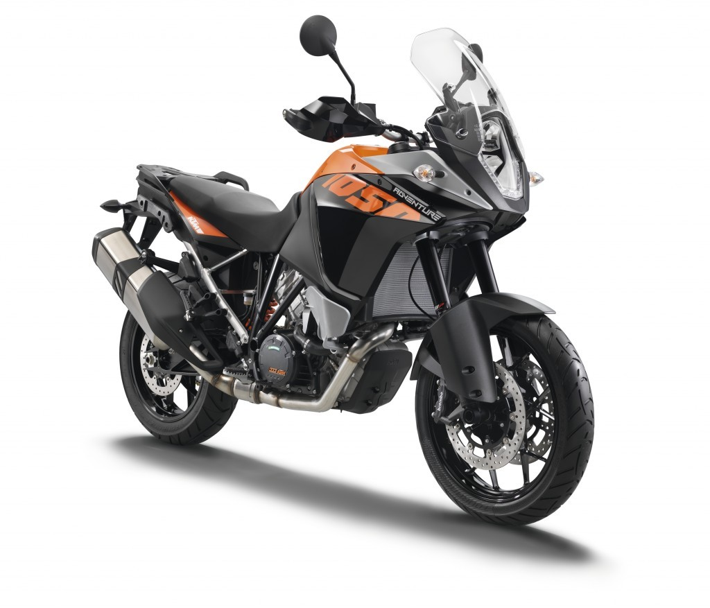 KTM 1050 Adventure motorcycle