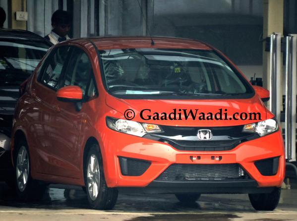 New Honda Jazz production begins
