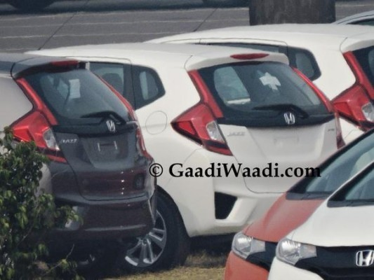 New Honda Jazz production ready