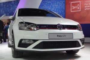 New Volkswagen Polo GTI front