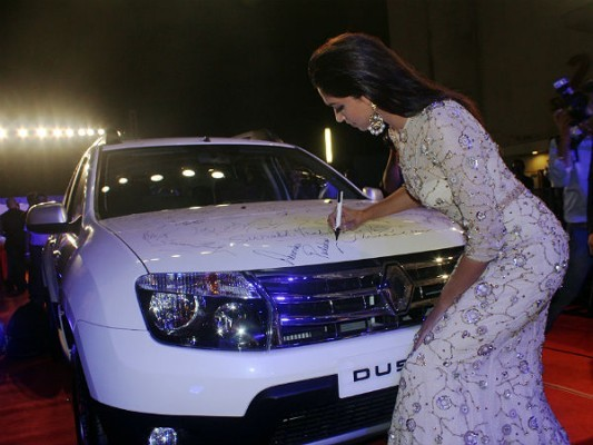 Renault Duster with Deepika