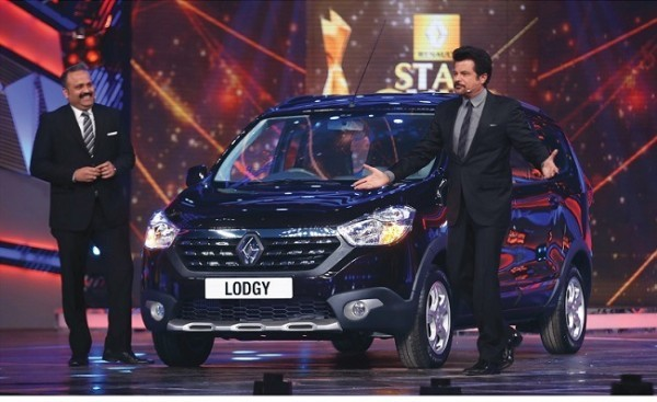 Renault Lodgy MPV with Anil Kapoor