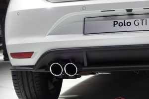 Volkswagen Polo GTI exhaust pipe
