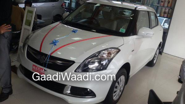 2015 Maruti Swift Dzire facelift smoked headlamps