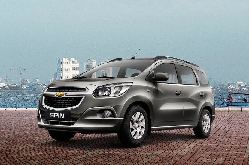 Chevrolet Spin MPV India launch in 2016