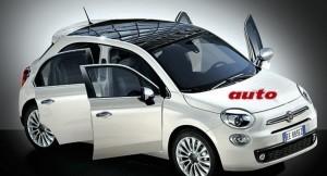Fiat 500 Plus - five-door version rendered