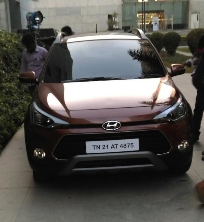 Hyundai i20 Active front