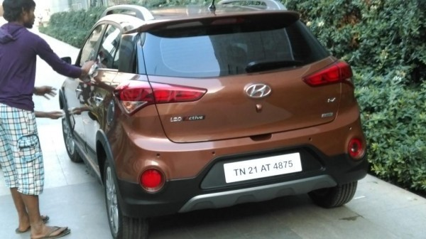 Hyundai i20 Active rear