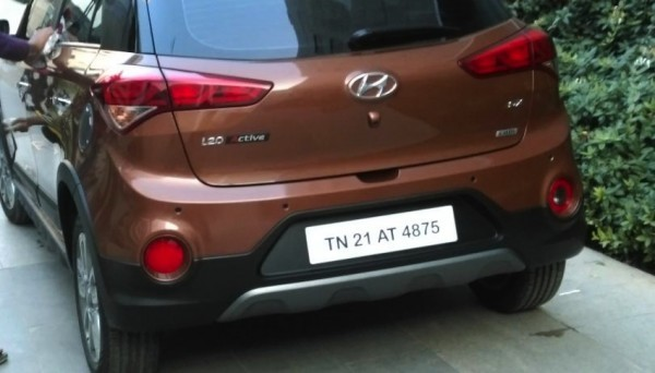 Hyundai i20 Active rear skid plate