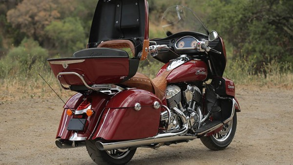 Indian Roadmaster rear