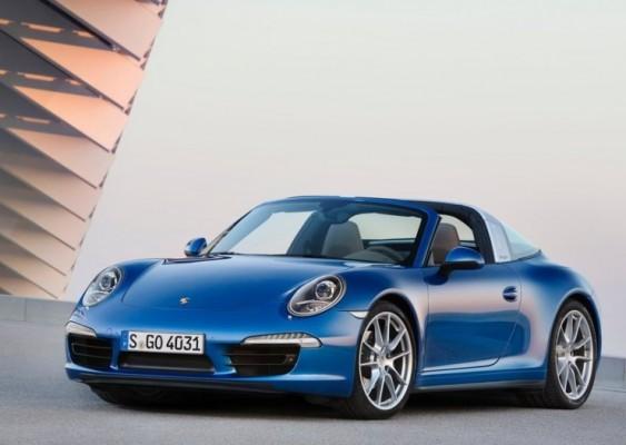 Porsche 911 Targa front fascia