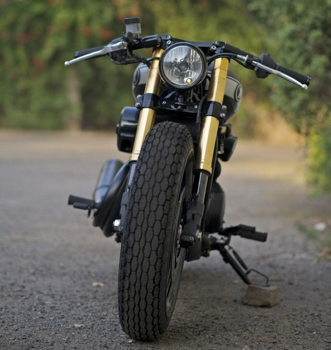 RCM Harley Davidson Street 750 Cafe Racer Front Profile
