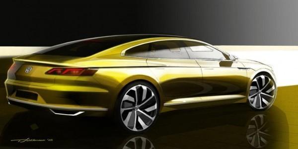 Volkswagen CC concept side