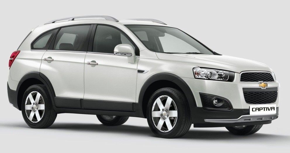 2015 Chevrolet Captiva launched