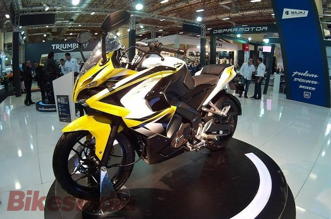 Bajaj Pulsar 200SS showcased in Turkey