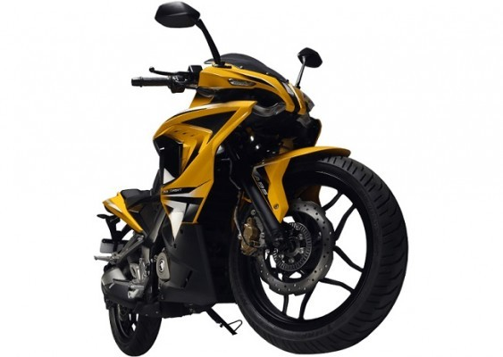 Bajaj Pulsar RS 200 side front profilepicture