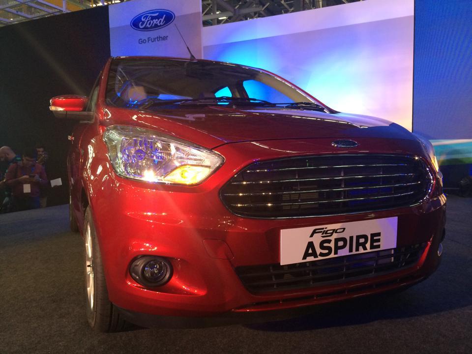 Ford Figo Aspire compact sedan front