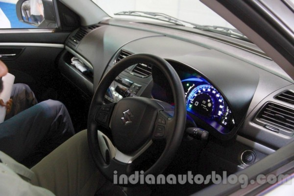 Maruti Swift Range Extender interior