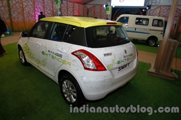 Maruti Swift Range Extender rear