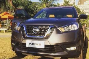 Nissan Kicks production model