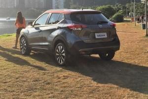 Nissan Kicks rear