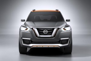 Nissan Kicks front view