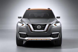 Nissan Kicks Compact SUV front
