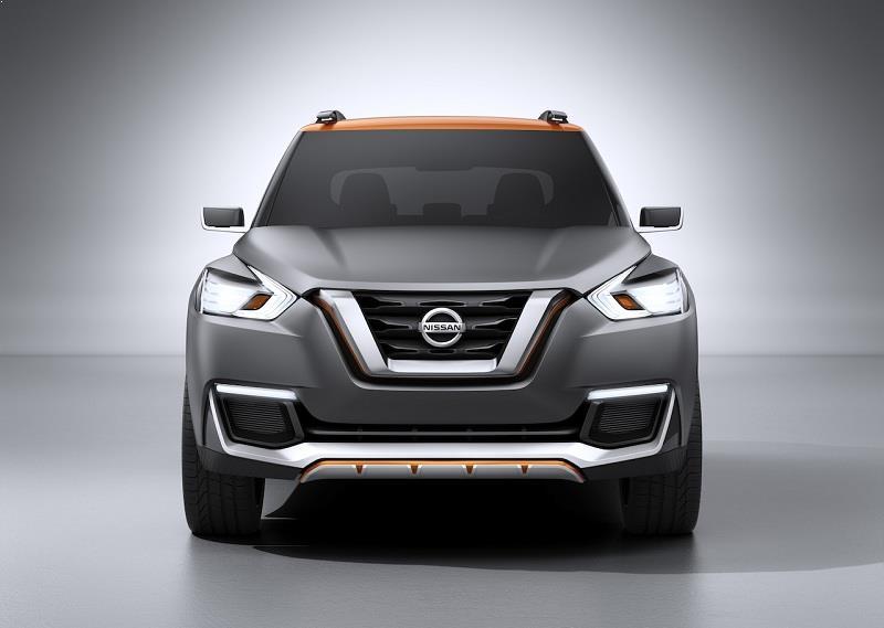 Nissan Kicks front view
