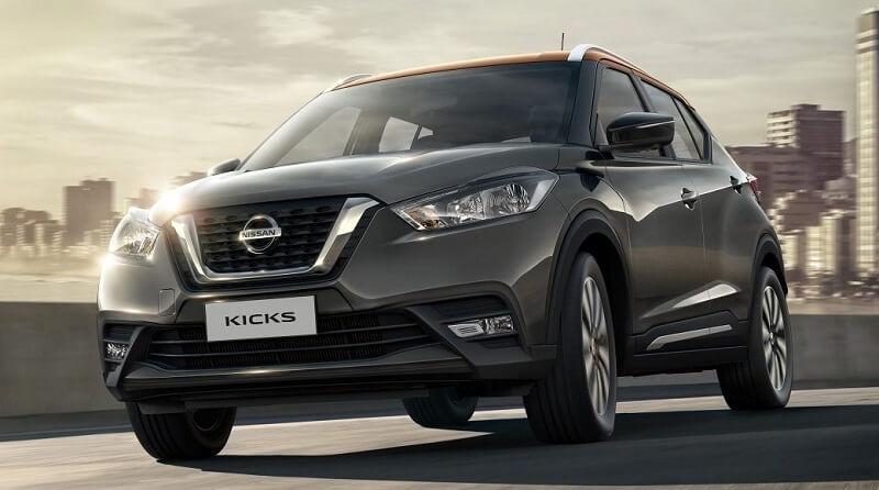Nissan Kicks India front