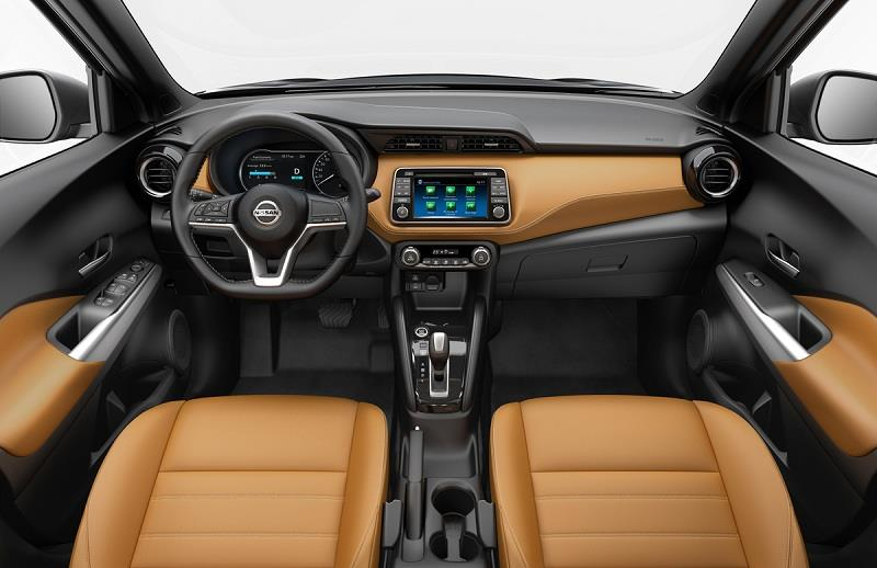 Nissan Kicks interior
