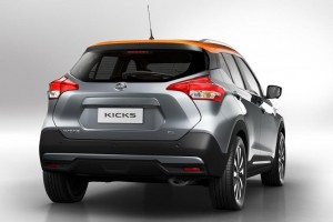 Nissan Kicks rear view