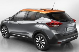 Nissan Kicks side rear