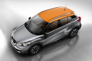 Nissan Kicks top view