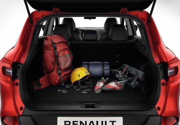 Renault Kadjar boot