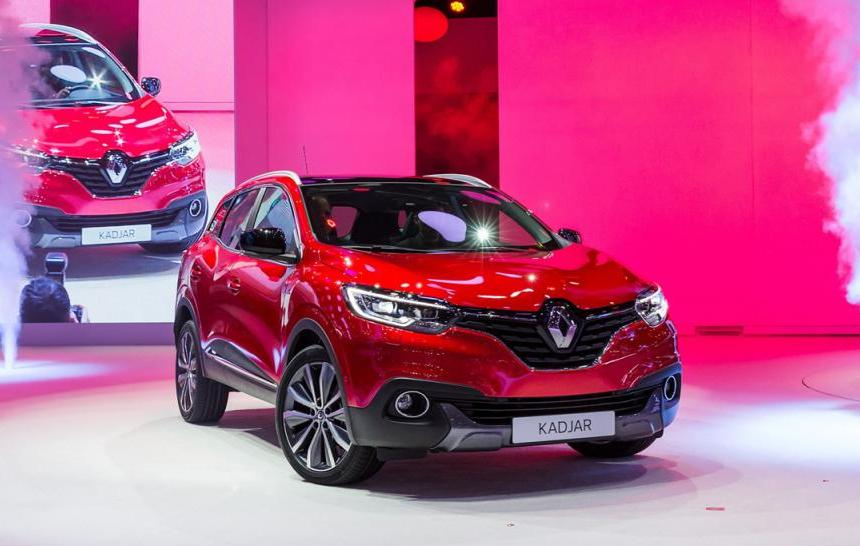 Renault Kadjar in Geneva