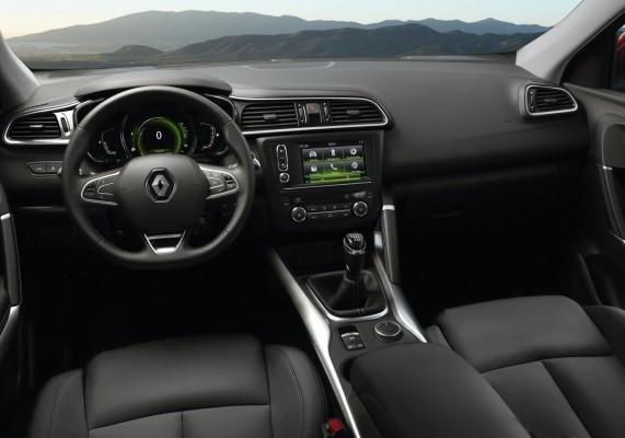 Renault Kadjar interiors