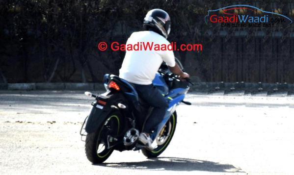Suzuki Gixxer SLK rear