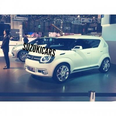 Suzuki iM-4 front leaked again