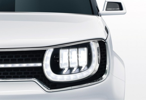 Suzuki iM-4 unveiled in Geneva headlamps