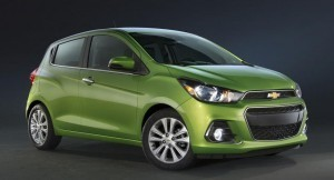 2016 Chevrolet Spark unveiled