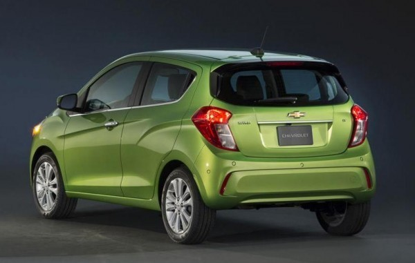 2016 Chevrolet Spark unveiled rear