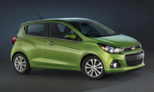 2016 Chevrolet Spark unveiled side profile
