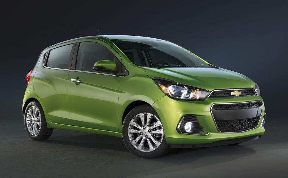 2016 Chevrolet Spark unveiled