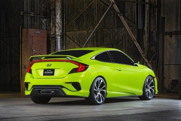 2016 Honda Civic concept side profile