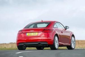 Audi TT Coupe India Rear Profile Pic