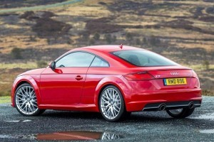 2015 Audi TT India rear side picture