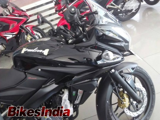 Bajaj Pulsar 200 AS dealership side
